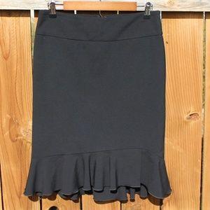 Express Design Studio Black skirt size 4